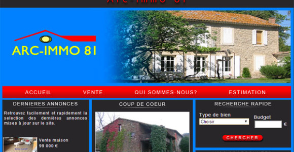 creation-site-agence-immobiliere-albi-arcimmo81