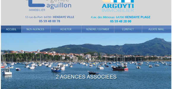 creation-site-agent-immobilier-hendaye